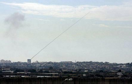 شلیک راکت از غزه به اشکول