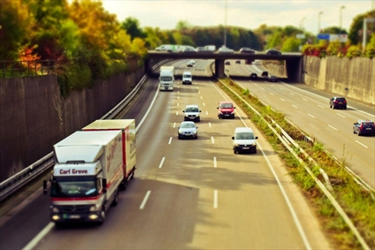 میزان فاصله با کامیون