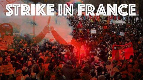 ششمین روز سرگردانی مردم فرانسه در پی اعتصاب سراسری