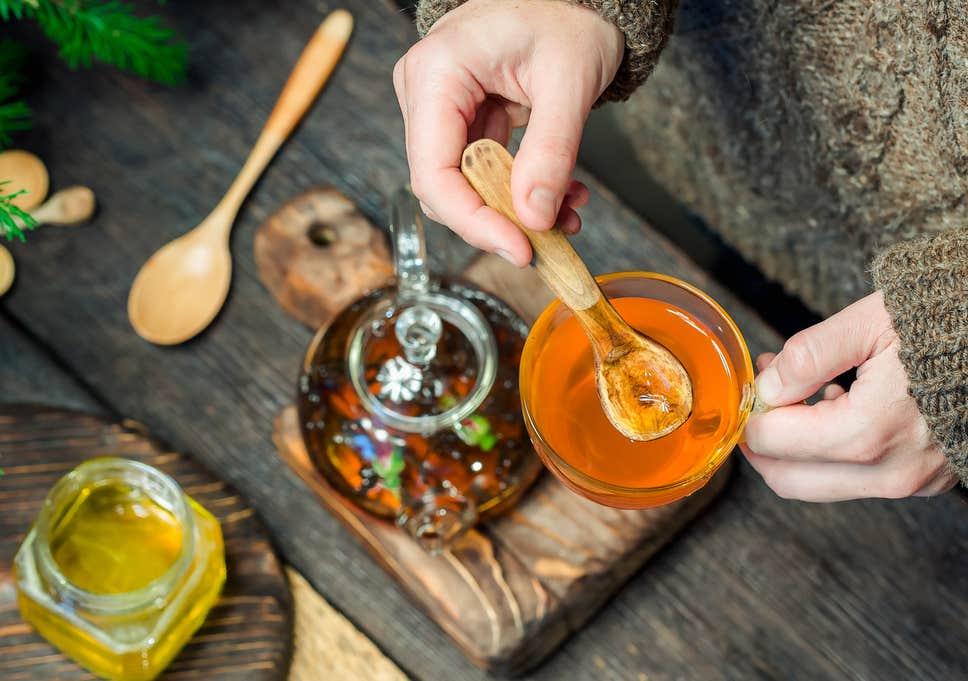 مصرف عسل در زمستان