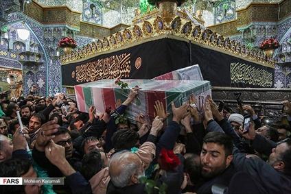 تشییع باشکوه حاج قاسم و مجاهدین در قم و تهران