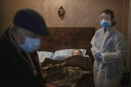 نیمی از موارد فوتی کرونا در اروپا در مراکز نگهداری سالمندان رخ میدهد