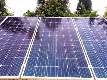 صفحه های خورشیدی