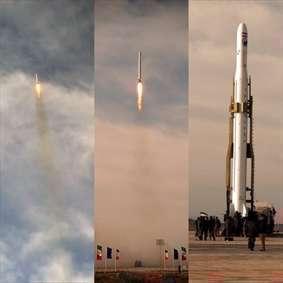 آلبوم تصاویر موشک ماهواره بر قاصد و ماهواره نور