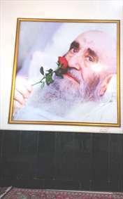 مزار آیت الله العظمی مرعشی نجفی