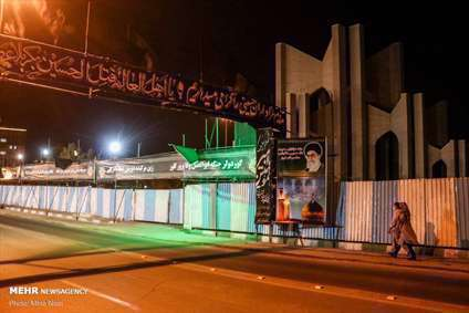 یاتماز حسینین پرچمی | صدای پای محرم در شهر تبریز