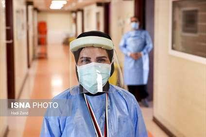 مبارزه با کرونا در بیمارستان سینا