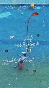 پوستر تیر مانده بر گلوی کودک رباب