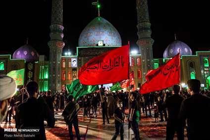 عزاداری محرم در مسجد مقدس جمکران
