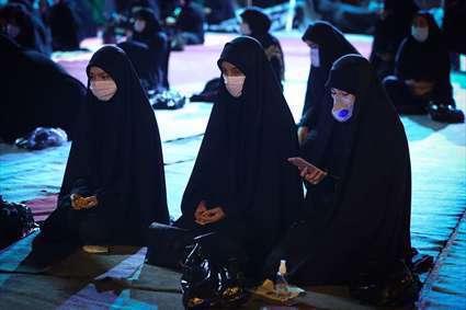 زنان حسینی | حضور زنان در مراسم عزاداری میدان امام خمینی (ره)