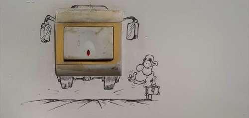 کارتونهای خلاقانه مجید خسروانجم