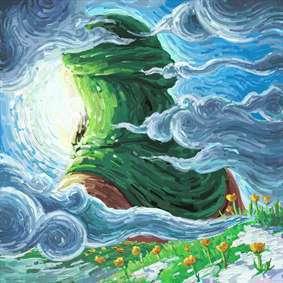 نقاشی دیجیتال امام زمان (عج) امید دلها