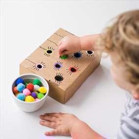 ایده هایی برای آموزش رنگ ها به کودکان