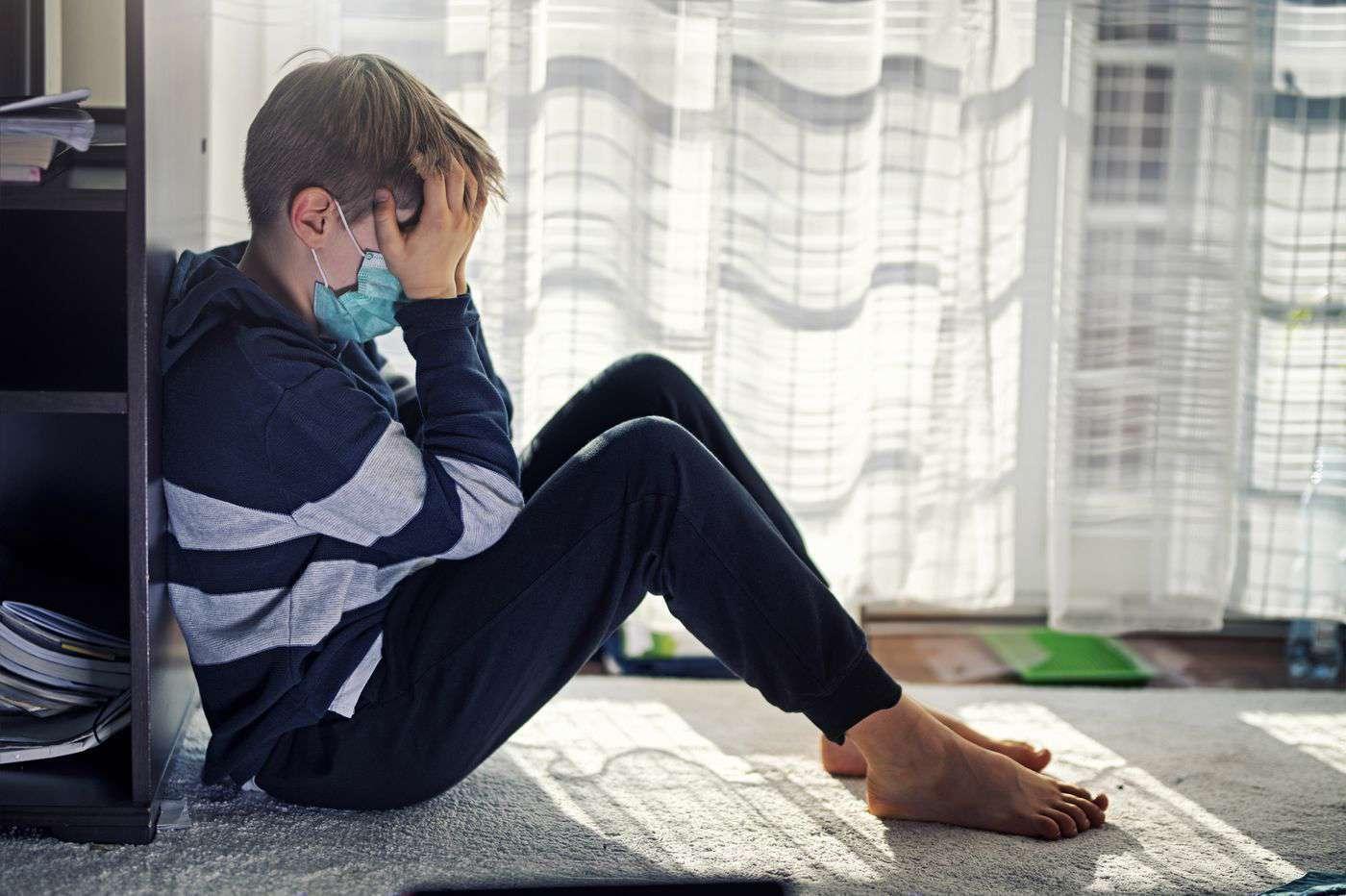 کودک مضطرب در قرنطینه