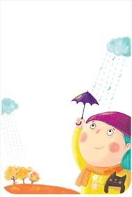 ترانه کودکانه درباره باران