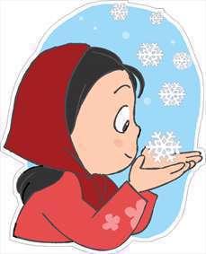 شعر کودکانه درباره زمستان و برف