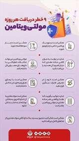 خطرات مصرف هر روزه قرص مولتی ویتامین