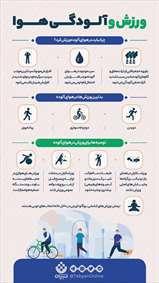 توصیه برای ورزش در آلودگی هوا