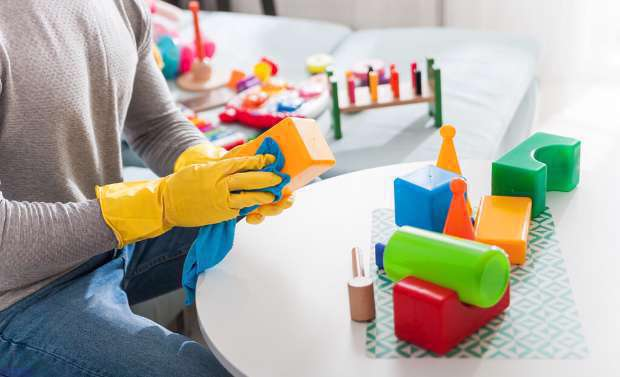 اسباببازی کودکان را چگونه تمیز و ضدعفونی کنیم؟