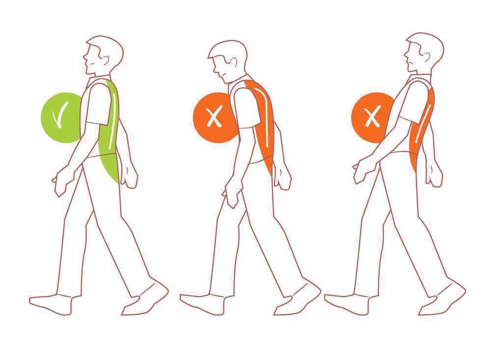 راه رفتن صحیح