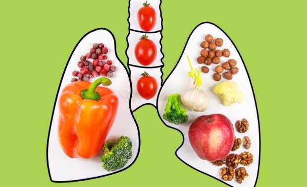 مواد غذایی مناسب برای مقابله با التهاب ریه