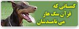 کسانی که قرآن سگ هار می نامدشان