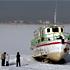 تصاویر یخ زدگی دریاچه شورابیل در اردبیل