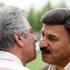 پرویز مظلومی و منصور پورحیدری