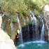 آبشار آب ملخ به روايت تصوير