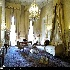 اتاق استراحت شاه که تخت خواب و پرده هاي آن به سبک تخت خواب ژزفين همسر ناپلئون بناپارت است،کاخ ملت مجموعه کاخ سعد آباد